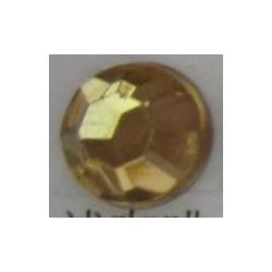 100 St. Selbstklebende Schmucksteine - Runde 6 mm (ecru)