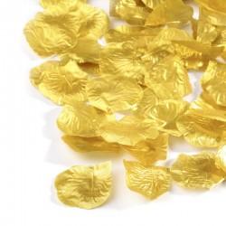 100 St. Rosenblätter (gold) Blütenblätter für Hochzeit