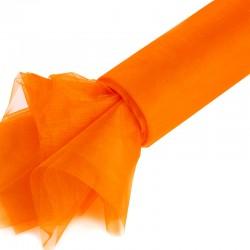 1 St. Organza Rolle 16 cm x 9,1 m (orange)