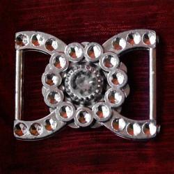 400 St. Dekorative Schnalle (silber) BUC7.19