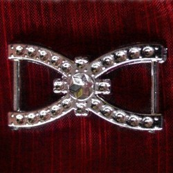 500 St. Dekorative Schnalle (silber) BUC6.9