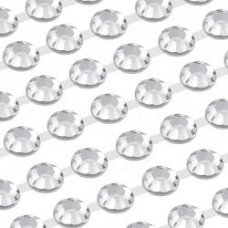 300 St. Selbstklebende Schmucksteine, (verbunden) 6 mm (kristall farbe)