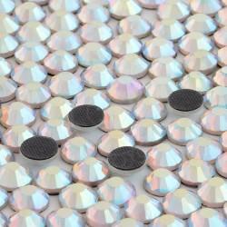 1440 St. Strasssteine ss16 hot-fix (3,5 mm) Kristallopal