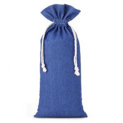 1 st. Jeans Beutel 16 cm x 37 cm (blau)