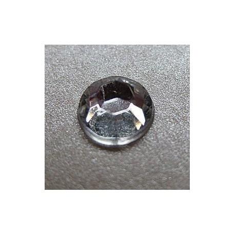 80 St. Selbstklebende Schmucksteine - Runde 8 mm (kristall farbe)