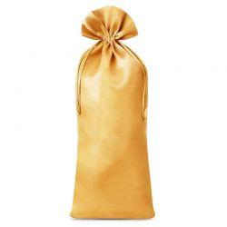 1 st. Satinsäckchen  16 cm x 37 cm (gold)