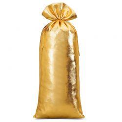 1 st. Metallic säckchen 16 cm x 37 cm (gold)