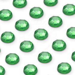 176 St. Selbstklebende Schmucksteine - Runde 3 mm (grün)