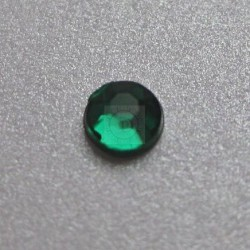 176 St. Selbstklebende Schmucksteine - Runde 2 mm (grün)