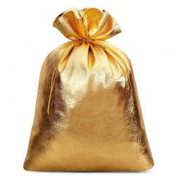 10 St. Metallic beutel 18 cm x 24 cm, Metallic Säckchen (gold)