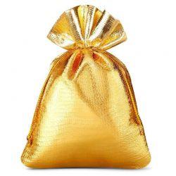 10 St. Metallic beutel 8 cm x 10 cm, Metallic Säckchen (gold)