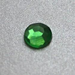 100 St. Selbstklebende Schmucksteine - Runde 5 mm (grün)