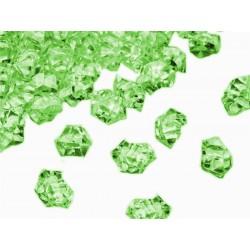 780 St. Kristall Acryl Eiswürfel, klein 1,4 x 1,1 cm (grün)