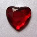 Selbstklebende Schmucksteine - Herz